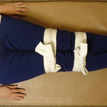 寝ている間にできる!!忙しい人の健康法!…紐結び