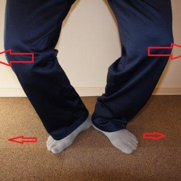 股関節疾患の運動療法にはタイプ分けが必須!!・・・X脚系