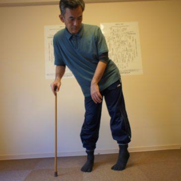 脳梗塞の後遺症のリハビリ・・・股関節矯正による根本へのアプローチ