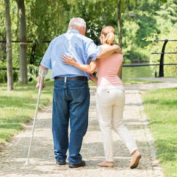 変形性股関節症の方の歩き方の特徴