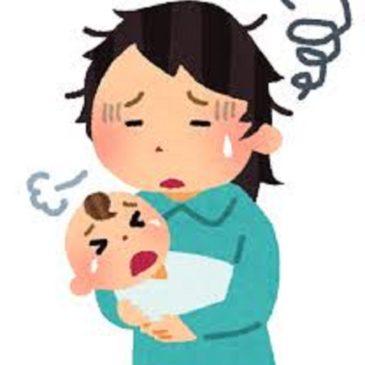出産後の体調の悪化・・・お茶碗が持てない