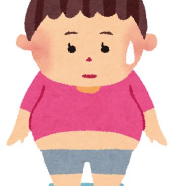 体重増えたら2日間で元に戻す!身体全般に共通のルールかも?