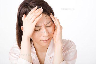 気候の変化で頭痛