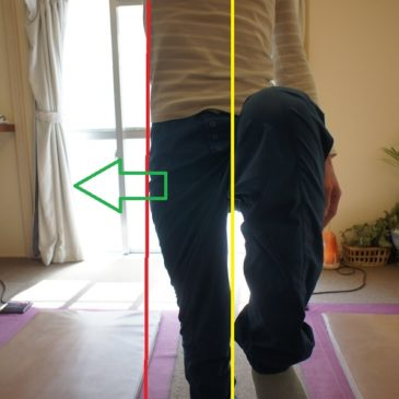 片脚立ちから分かる左右均等な運動の間違い・・・歩行もしかり!