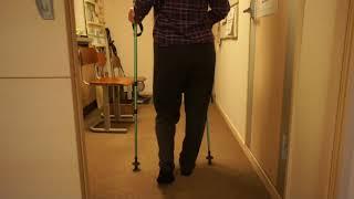 A様 変形性股関節症・脊柱管狭窄症・・股関節・骨盤矯正で歩きも少しづつ良くなってきました。