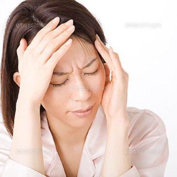 自粛生活等による頭痛?・・その対策!!