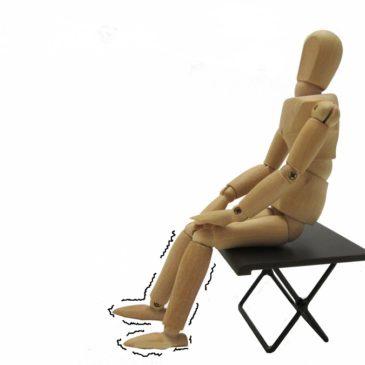 変形性股関節症などの運動療法、その良し悪し。具体例② 貧乏ゆすり・ジグリング