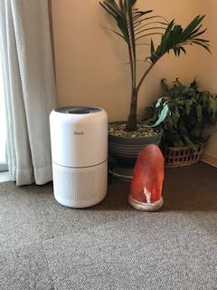 HEPAフィルター空気清浄器を導入しました。