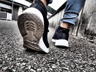 """靴の歩き方に与える影響"""""""""""