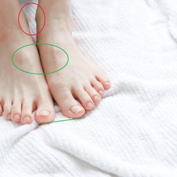 さらに、足の甲の痛みの本当の原因。
